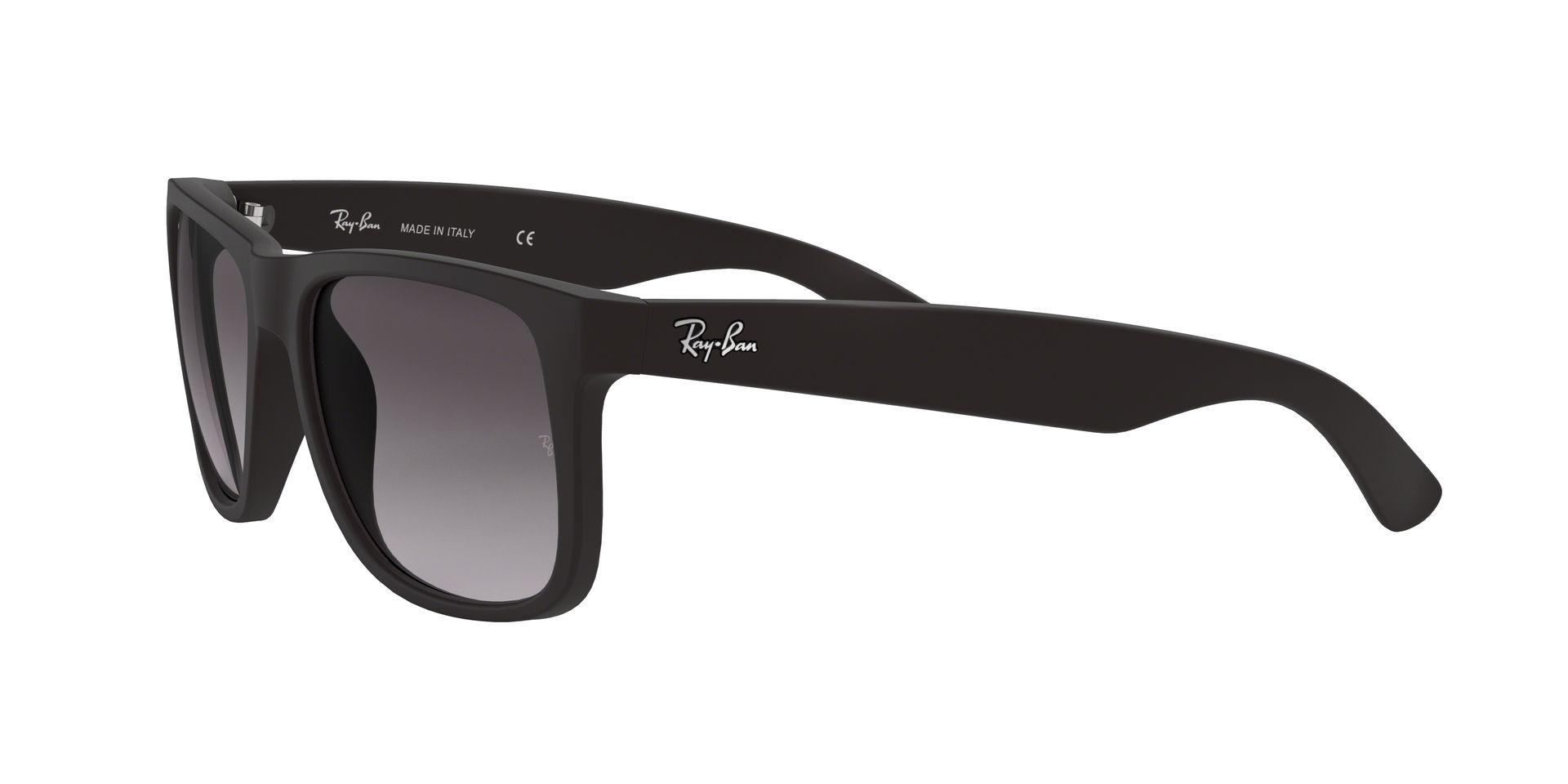 c419fb18611c8 Lentes Ray-Ban Justin rubber black grey gradient - iBikes Store