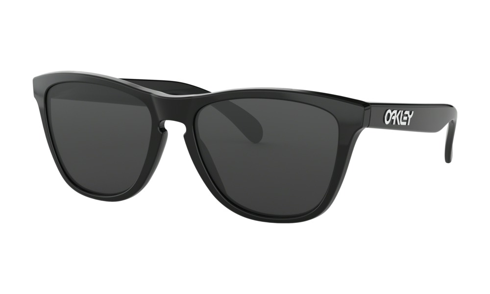5bb0fea84 Lentes Oakley Frogskins Polished black/grey - iBikes Store